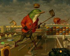 Peter Ferguson, ilustrador surrealista | Museógrafo
