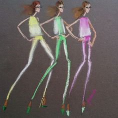 @giambattistapr x @7fam_eu  #neon #denim pieces #giambattistavallix7fam