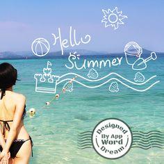 word,dream,love,beach,sky,sea,summer