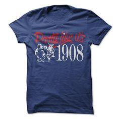 Lets Party Like Its 1908 - #hipster shirt #diy tee. THE BEST => https://www.sunfrog.com/Sports/Lets-Party-Like-Its-1908.html?68278