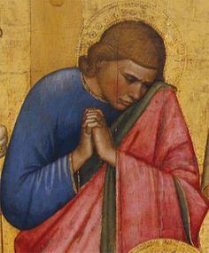 Giottino - Pietà di San Remigio (particolare) - c. 1350 - Galleria degli Uffizi, Firenze