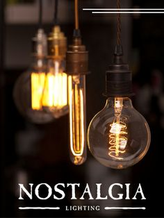 Vintage Edison style lighting by KloshArt