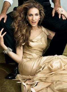 Sarah Jessica Parker in Versace.