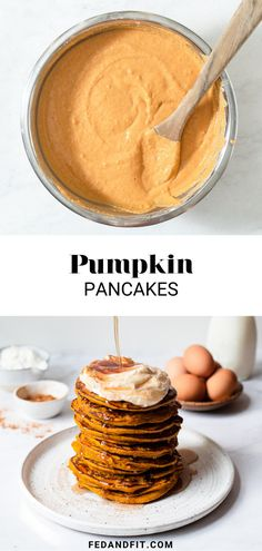 These pumpkin pancakes are such a fun, cozy way to enjoy fall flavors with friends and family weekend after weekend!