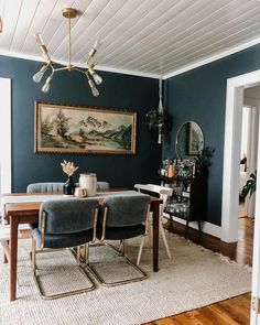 Maui Chunky Jute Tasseled Off White Rug Dark Accent Walls, Accent Wall Colors, Dark Walls, White Walls, Living Room Tv, Living Room Furniture, Trellis Rug, Dark Furniture, Farmhouse Interior