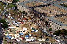 pentagon 9/11 | View of the Pentagon after the September 11, 2001 terrorist attacks