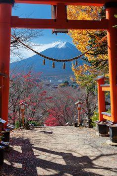 Mt Fuji November 7301 by kbaranowski One of those beautiful sunny fall days http://flic.kr/p/xfWHQH