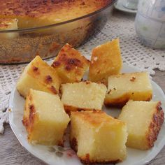 Bolo de Macaxeira com Leite Condensado - Comidinhas do Chef Pasta, Dessert Recipes, Desserts, Chocolate, Sweet Bread, Cornbread, Banana Bread, Ale, Pineapple