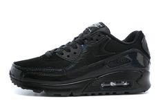 online retailer 58c59 b7d26 Womens Sneakers Nike Air Max 90 Essential black   black Air Max 90 Women -  Nike
