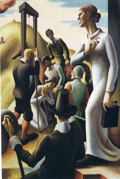 Thomas Hart Benton was an American painter and muralist. Along with Grant Wood and John Steuart Curry, he was at the forefront of the Regionalist art movement. African American Artwork, American Artists, Portraits, Portrait Art, Thomas Hart Benton Paintings, James Abbott Mcneill Whistler, Art Thomas, Grant Wood, National Art