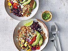 farro burrito bowls - Search Results | Cooking Light