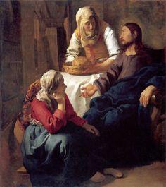 christ-in-the-house-of-martha-and-mary-1654-artist-jan-vermeer-van-delft.jpg (910×1023)