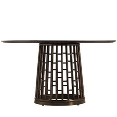 ENTRY TABLE: McGuire Furniture: Barbara Barry Fretwork Dining Table: 847