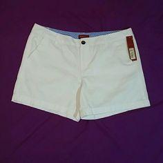 Merona White Shorts NWT! Merona white Shorts NWT Merona Shorts