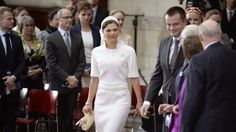 Queens & Princesses - In the absence of Prince Henrik, Crown Prince Frederik and Princess Mary accompanied Queen Margrethe in his carriage tour of the royal palace to the Copenhagen City Hall, where a reception was held.