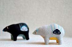 happy cloud spirit bear   rain cloud by MountRoyalMint on Etsy