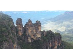 View of the Three Sisters
