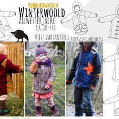 Ebook Winterwoold Allwetterjacke Gr. 80-146 von Rabaukowitsch