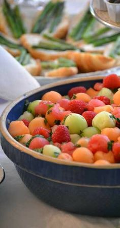 fresh fruit...