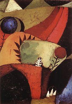 Paul Klee - Three White Bluebells