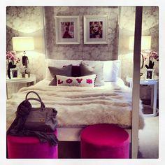 Teenage girls room www.theladylovesstyle.com