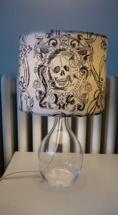 Gives me an idea to decorate a regular lampshade by drawing on it with a Sharpie!