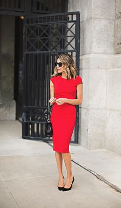 red valentines dress