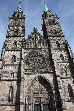 Lorenzkirche, Nürnberg, Bayern, Bavaria