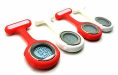 Fun Cool Vibrant Pocket Fob Watch LED Backlight Night Shift Nurse Medical Tunic