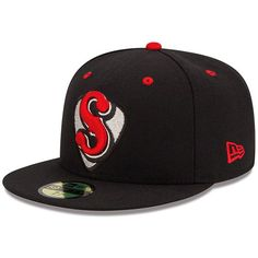 1aa68308268 Nashville Sounds New Era Authentic Collection On Field 59FIFTY Fitted Hat -  Black