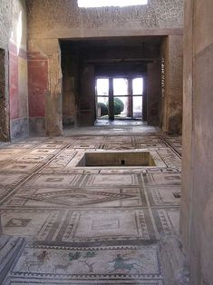 pompei preserved,A house in Pompeii