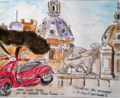 Marie t.: Carnet de voyage Rome 2012