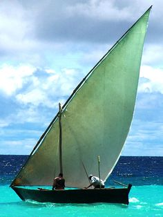 Dhow, Zanzibar Island, Tanzania.  Photo: geoftheref, via Flickr