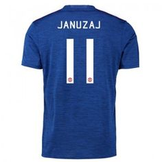 Manchester United 16-17 Adnan Januzaj 11 Bortatröja Kortärmad  #Fotbollströjor