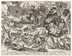 Sloth - Pieter Bruegel the Elder