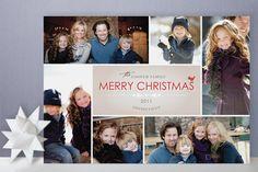 Bowtie Christmas Photo Cards