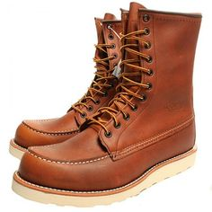 Red Wing Boots - STYLE NO. 877
