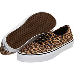 It's been decided. Leopard Vans will be my European adventure shoes.