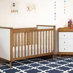 Babyletto Skip Convertible Crib ($305 at Target) and Changing Table ($390 at Target) @Sarah Nasafi Grayce