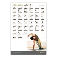 Wall Chart - Intermediate Matwork