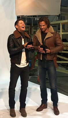 can they tone down their adorableness for 1 minute? | Supernatural | Pinterest