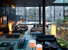 The Coolest Design Hotels in Amsterdam - Bloesem article for Condé Nast Traveler