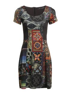 My Desigual dress with a  slight pattern change, love it