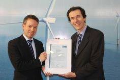 Siemens Wind Power has received the Provisional Type Certificate from GL Renewables Certification for its 6 MW offshore wind turbine.