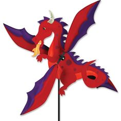 19 in. WhirliGig - Dragon