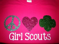 Girl Scout Troop Shirt So need to make these for our Troop!!
