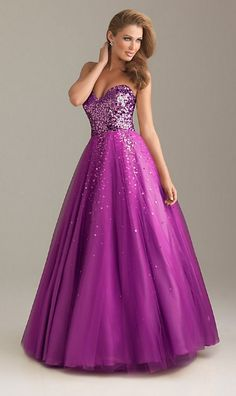 gold Sequin Ball Gown Prom Dress 2013