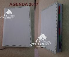 AGENDA 2017, CUBIERTA ECOCUERO.