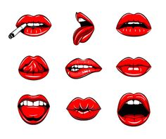Sexy lips SVG Kiss Red lipstick Female mouth with teeth Open Mouth Drawing, Mouth Painting, Mouth Tattoo, Dessin Old School, Kissing Drawing, Teeth Drawing, Lips Sketch, Art Inspiration Drawing, Lip Art