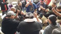 Midnite Express Host Drum @ Seven Clans Powwow 2016